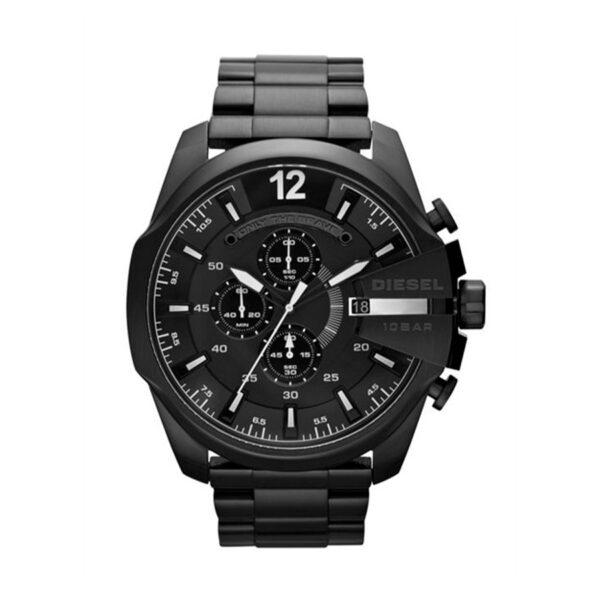 Reloj Diesel Mega Chief Hombre DZ4283 Acero negro crono