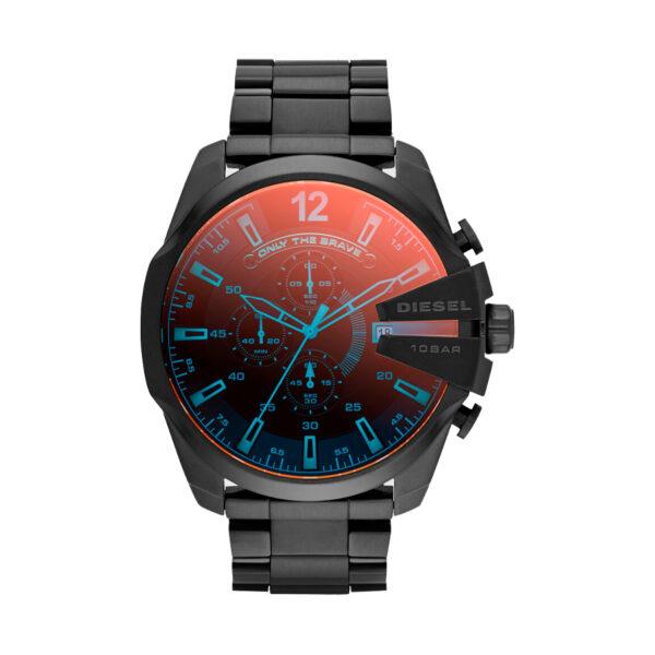 Reloj Diesel Mega Chief Hombre DZ4318 Acero negro cristal tornasolado