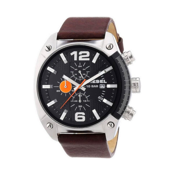 Reloj Diesel Overflow Hombre DZ4204 Acero esfera negra crono