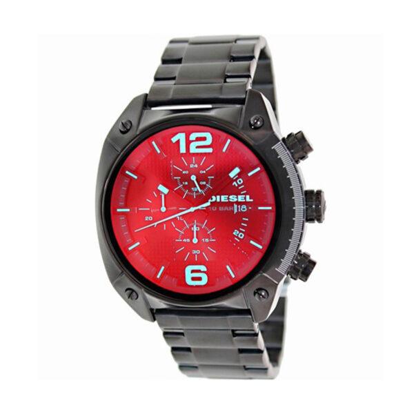 Reloj Diesel Overflow Hombre DZ4316 Acero negro cronógrafo