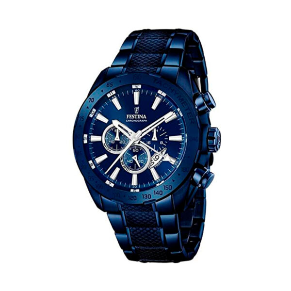 Reloj Festina Prestige Hombre F16887-1 Acero azul con esfera azul