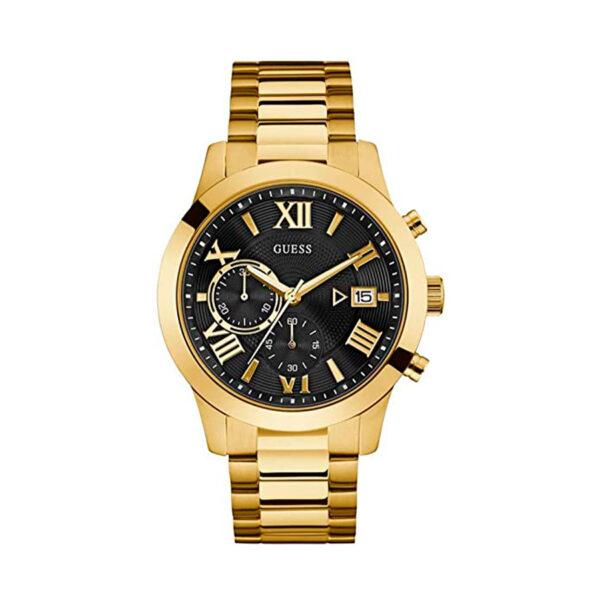 Reloj Guess Atlas Hombre W0668G8 Dorado cronómetro