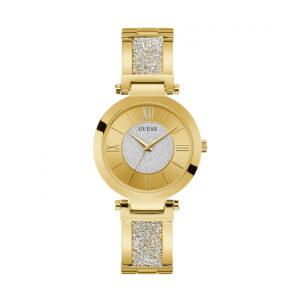 Reloj Guess Aurora Mujer W1288L2 Acero dorado con glitz