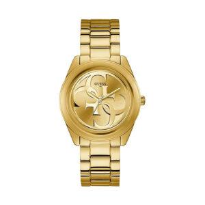 Reloj Guess Ladies Mujer W1082L2 Dorado con logo en la esfera