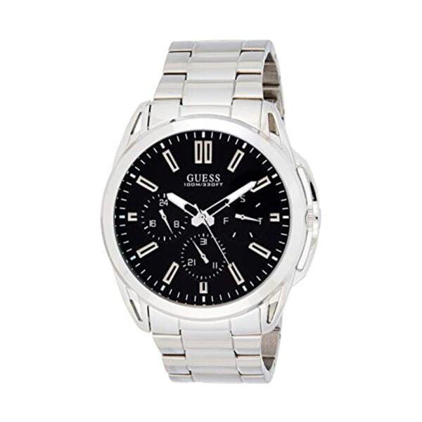 Reloj Guess Vertex Hombre W1176G2 Acero multifunción esfera negra