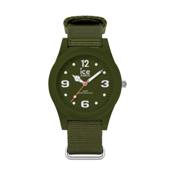 Reloj Ice Slim Nature Mujer IC016445 Acero verde con esfera verde y correa nylon verde