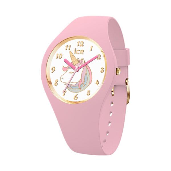 Reloj Ice Sunset Mujer IC016722 Acero rosado con esfera multitonos rosas y correa malla milanesa rosada