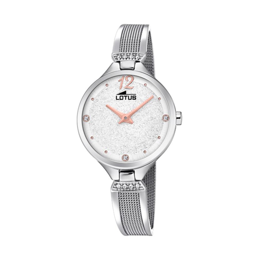 Reloj Lotus Bliss Mujer 18605-1 Acero con esfera blanca y cristales