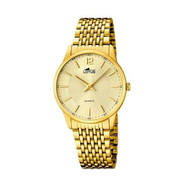 Reloj Lotus Classic Hombre 15889-3 Acero y esfera dorados