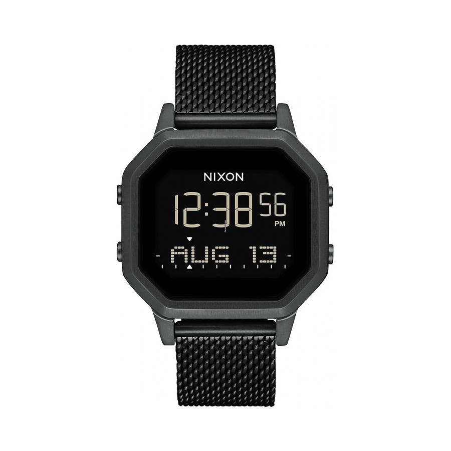Reloj Nixon Siren Mujer A1272001 Acero esfera negra