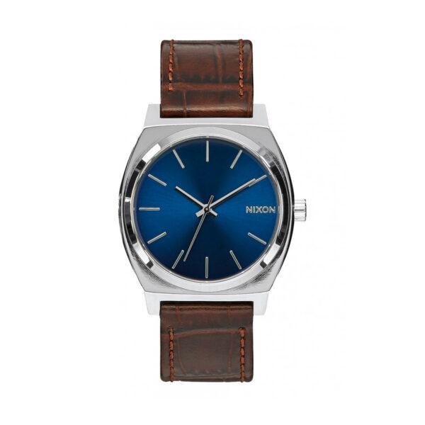 Reloj Nixon Time teller Hombre A0451887 Analógico correa piel marrón