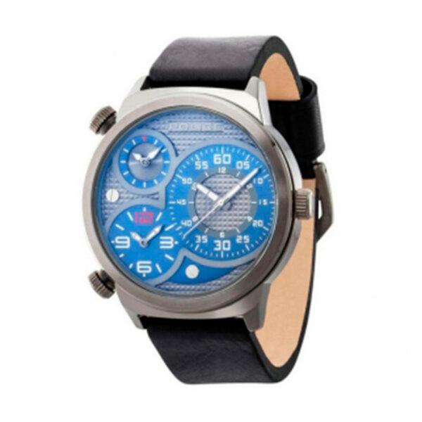 Reloj Police Elapid Hombre R1451258003 Acero gris esfera multicolor con 2 movimientos multifunción