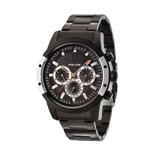 Reloj Police Scramble Hombre R1453251001 Acero negro esfera negra con calendario