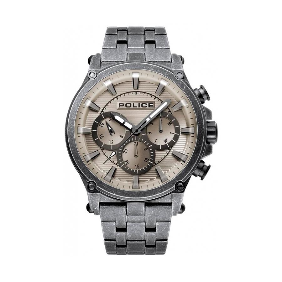Reloj Police Taman Hombre R1453321002 Acero gris esfera multifunción con calendario