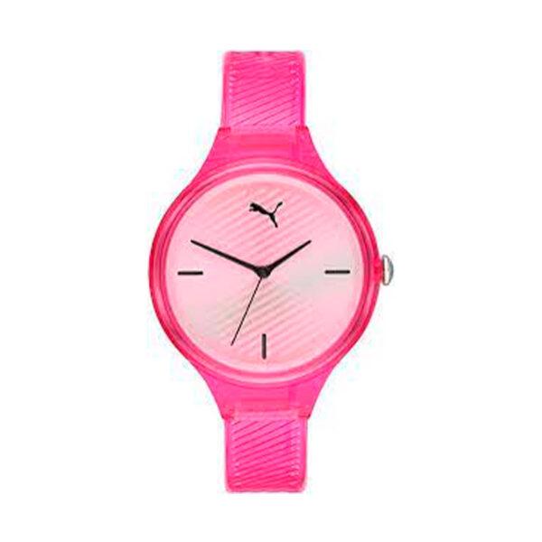 Reloj Puma Contour Mujer P1024 Analógico correa rosa