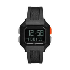 Reloj Puma Remix Hombre P5020 Digital correa negra