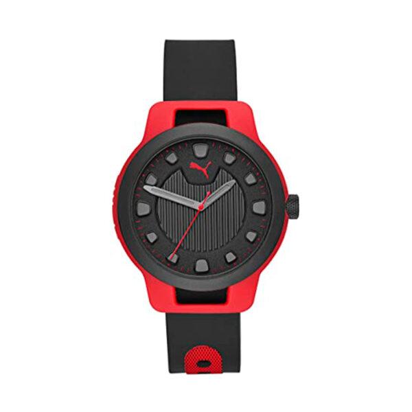 Reloj Puma Reset Hombre P5001 Correa silicona negra