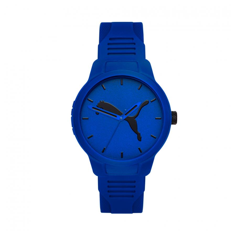 Reloj Puma Reset Hombre P5014 Analógico correa azul