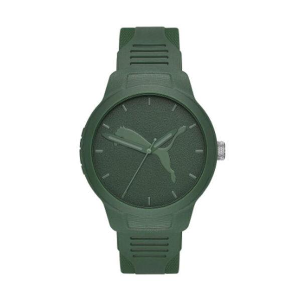 Reloj Puma Reset Hombre P5015 Analógico correa verde