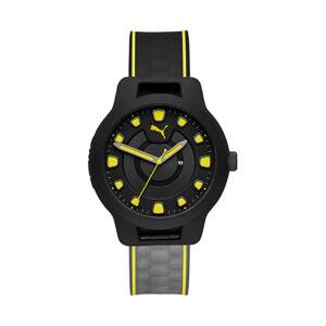 Reloj Puma Reset Hombre P5025 Analógico silicona negra