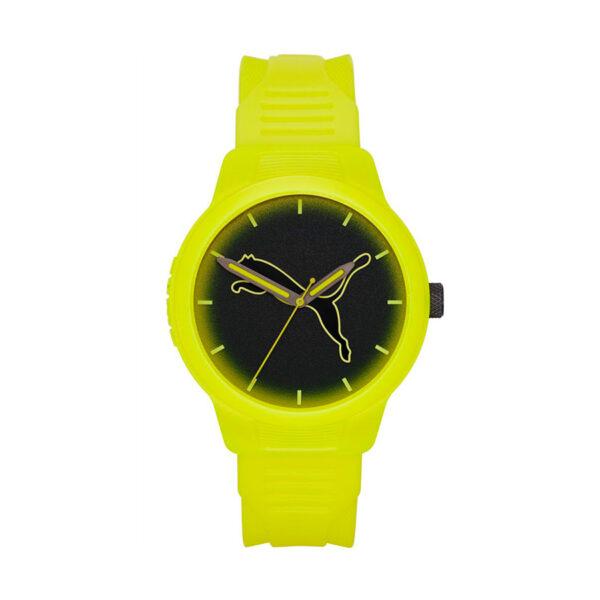 Reloj Puma Reset Hombre P5026 Analógico correa amarilla