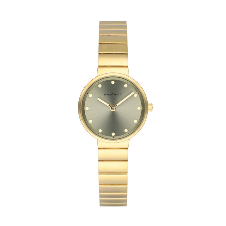 Reloj Radiant Clarke Mujer RA521203 Acero dorado esfera gris