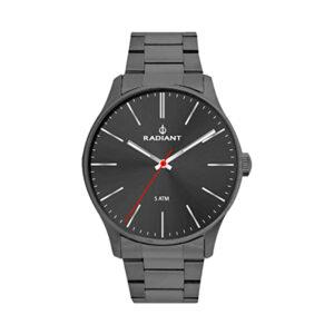 Reloj Radiant Forest Hombre RA436204 Acero gris con esfera gris y aguja roja