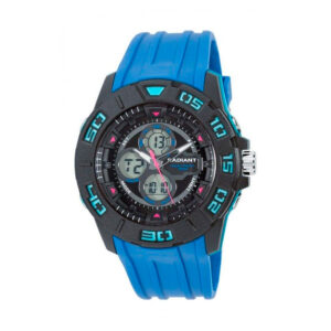 Reloj Radiant Sky Hombre RA318602 Analógico y digital con esfera multicolor y correa caucho azul