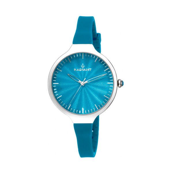 Reloj Radiant Sunny Mujer RA336616 Acero plata con esfera y correa azul