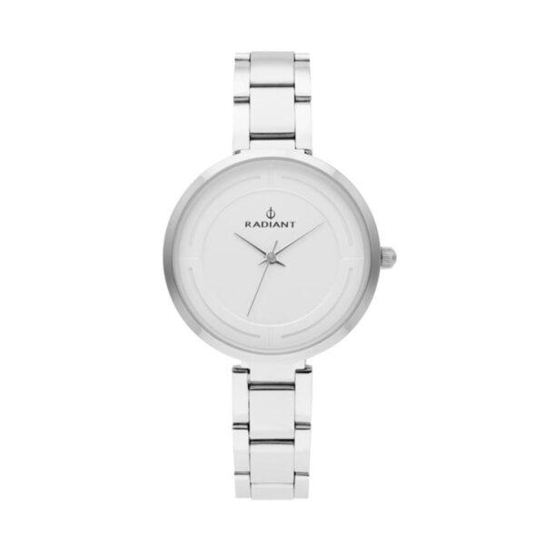 Reloj Radiant Tatiana Mujer RA488201 Acero plata con esfera blanca