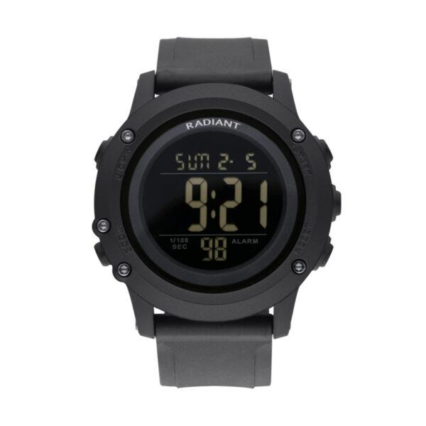 Reloj Radiant Tinu Hombre RA562601 Digital deportivo negro