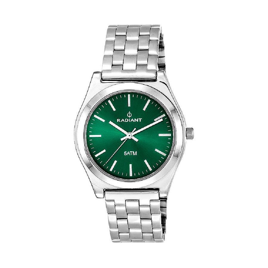 Reloj Radiant Trendy Mujer RA378203 Acero plata con esfera verde
