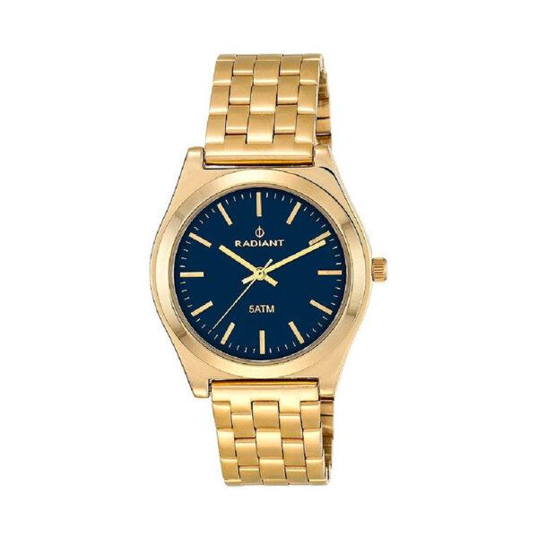 Reloj Radiant Trendy Mujer RA378206 Acero dorado con esfera negra