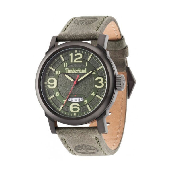 Reloj Timberland Berkshire Hombre 14815JSB-19 Correa cuero verde