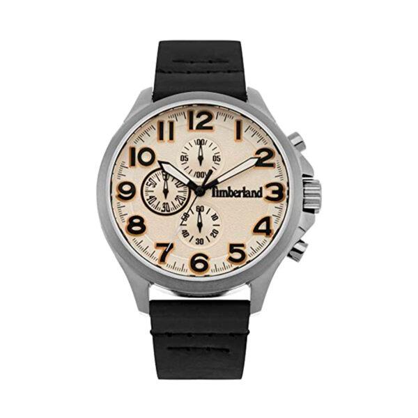 Reloj Timberland Brenton Hombre 15026JS-07 Analógico correa negra