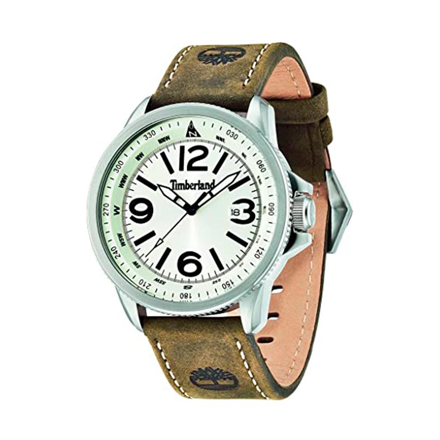 Reloj Timberland Caswell Hombre 14247JS-07 Correa cuero marrón