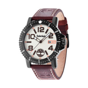 Reloj Timberland Hyland Hombre 14479JSB-07 Analógico piel marrón