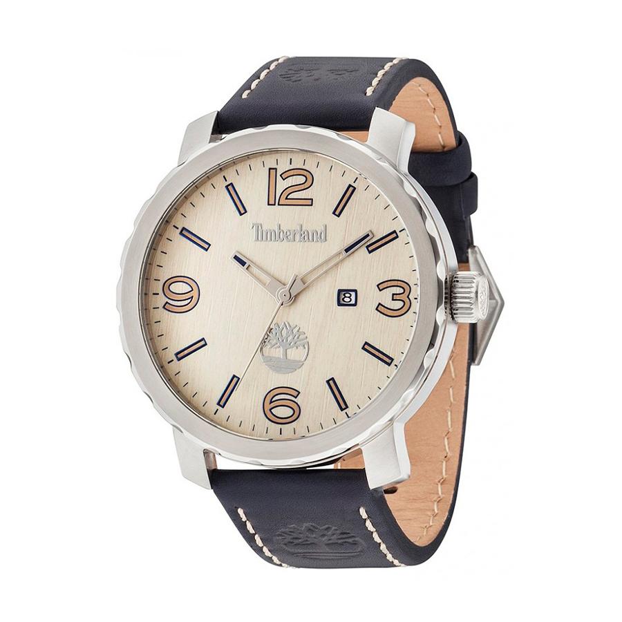 Reloj Timberland Pinkerton Hombre 14399XS-07A Esfera beige correa azul