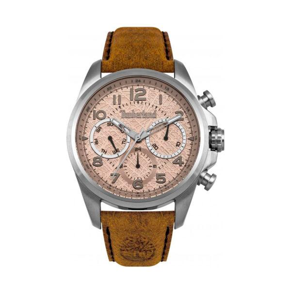 Reloj Timberland Smithfield Hombre 14769JS-07 Crono correa piel beige