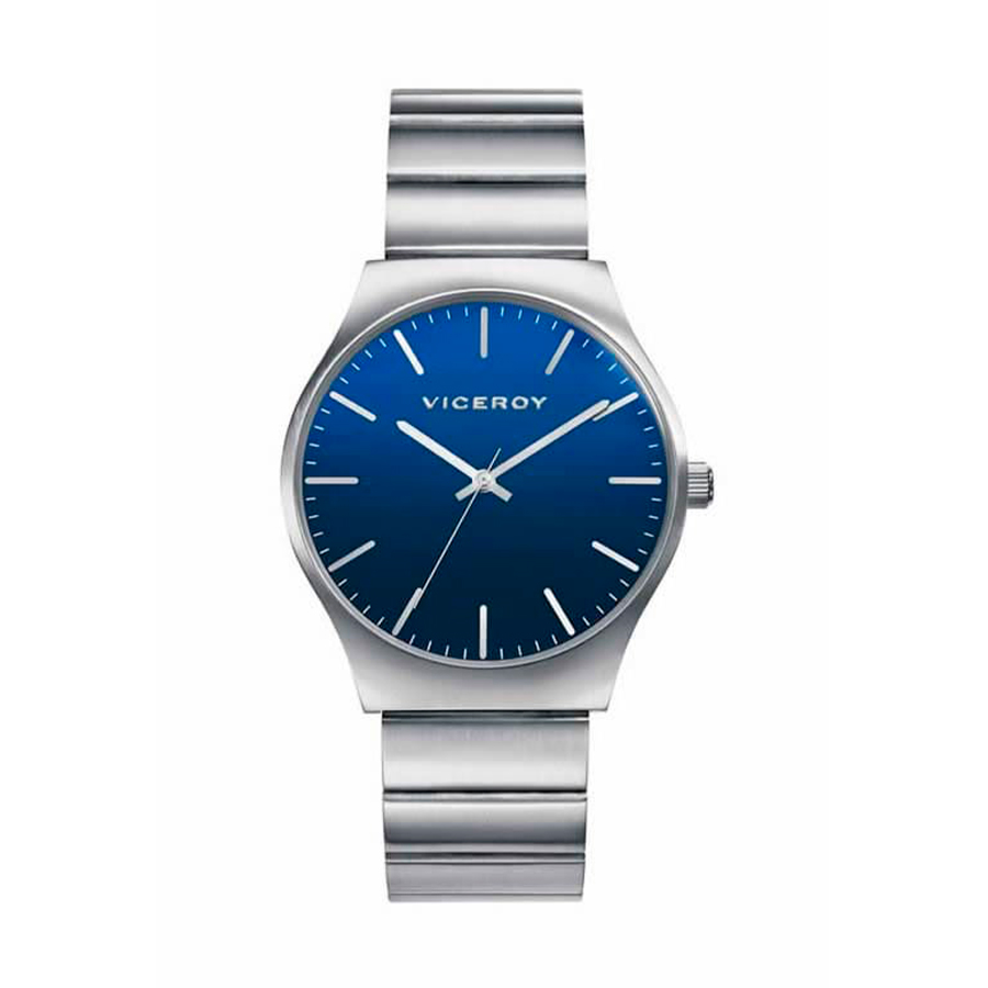 Reloj Viceroy Air Hombre 401089-37 Acero plata con esfera azul