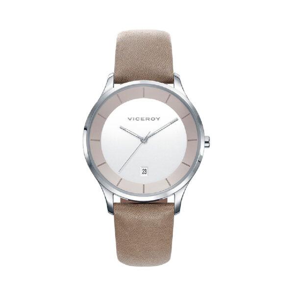 Reloj Viceroy Air Hombre 42297-17 Acero correa piel marrón