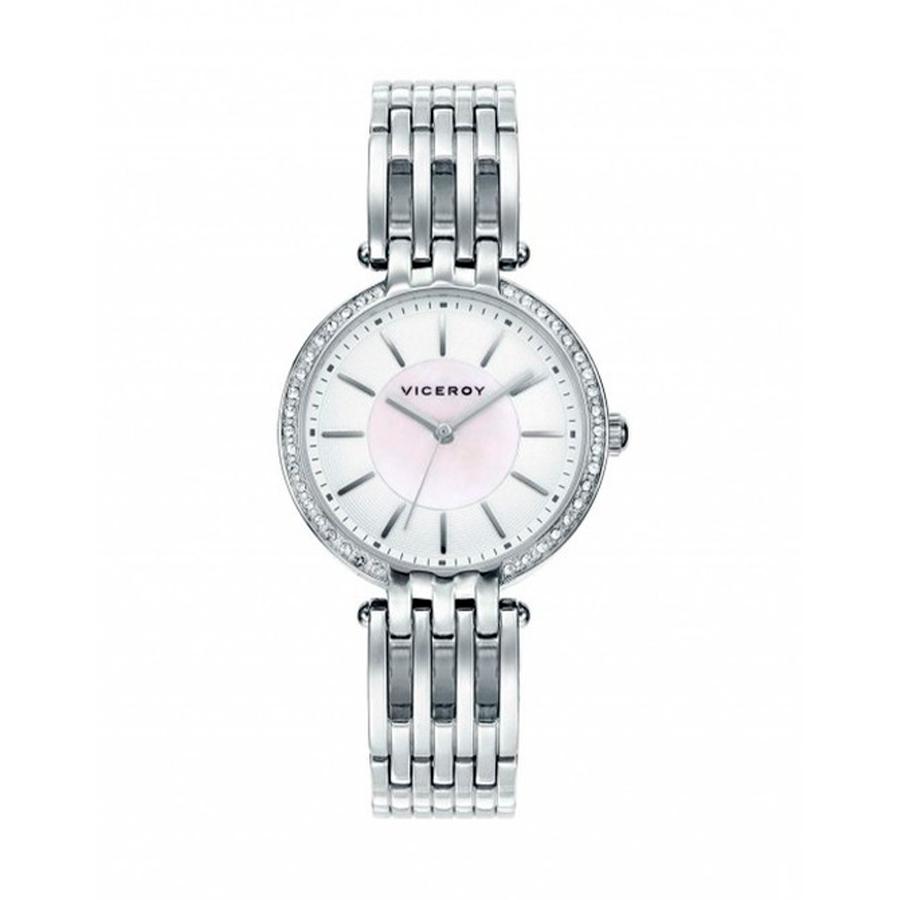 Reloj Viceroy Air Mujer 471042-07 Acero esfera blanca con circonitas en el bisel
