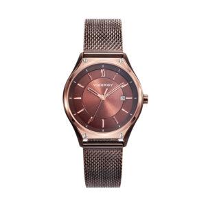 Reloj Viceroy Air Mujer 471190-47 Acero esfera y correa malla milanesa marrón