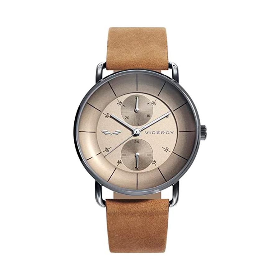 Reloj Viceroy Antonio Banderas Hombre 42367-16 Correa de piel marrón