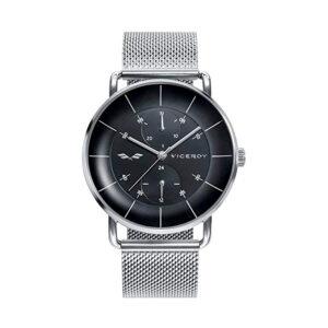 Reloj Viceroy Antonio Banderas Hombre 42369-56 Acero esfera negra con correa malla milanesa plata