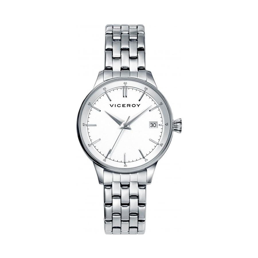 Reloj Viceroy Aria Mujer 40904-07 Acero esfera blanca