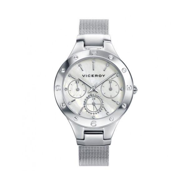 Reloj Viceroy Chic Mujer_401052-97 Cronoómetro Acero