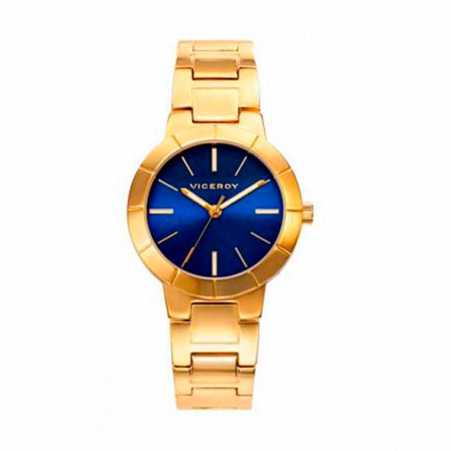 Reloj Viceroy Chic Mujer 471000-37 Dorado esfera azul