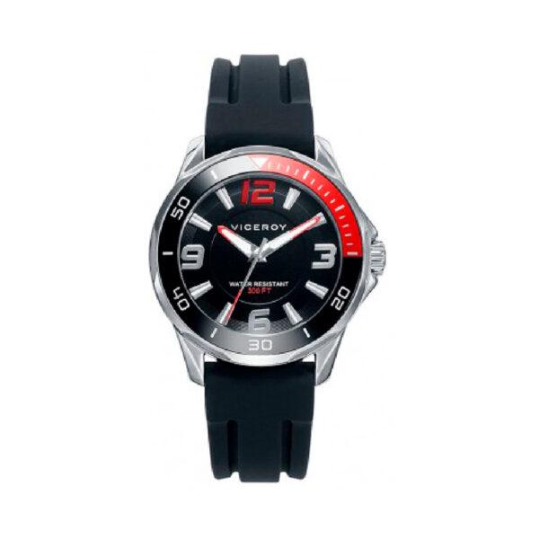 Reloj Viceroy Comuniones Cadete 46707-55 Correa caucho negra