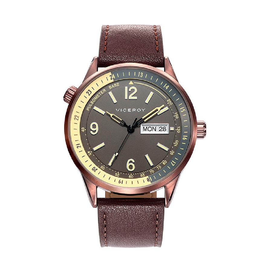 Reloj Viceroy Heat Hombre 401075-15 Correa piel marrón